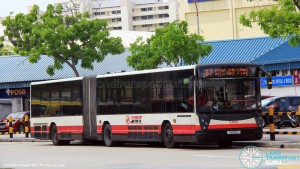 SMRT Mercedes-Benz O405G Hispano Habit (TIB1119T) - Service 67