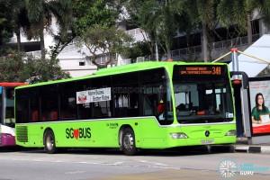 Go-Ahead Mercedes-Benz Citaro (SBS6388T) - Service 34A
