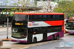 SBST Volvo B9TL (CDGE) (SBS7348C) - Service 12