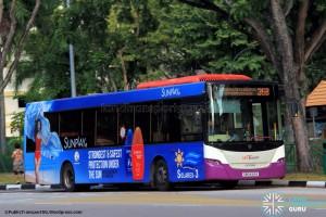SBST Scania K230UB (SBS8169X) - Service 36B