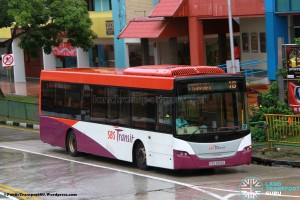 SBST Scania K230UB (SBS8319E) - Service 18