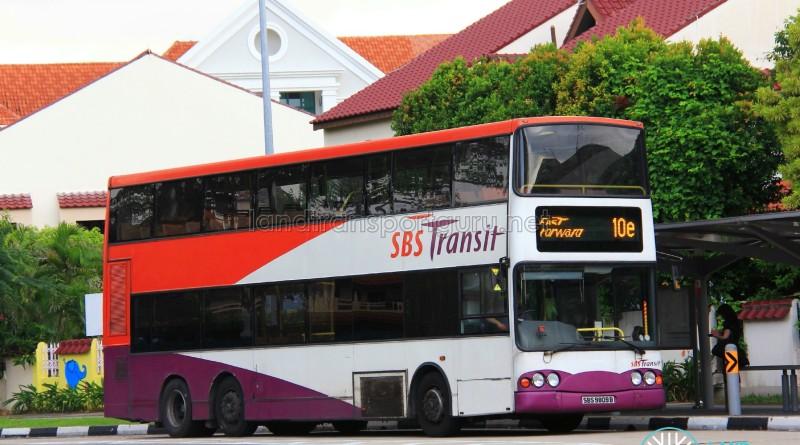 SBS Transit Volvo B10TL (SBS9809B) - Fast Forward 10e
