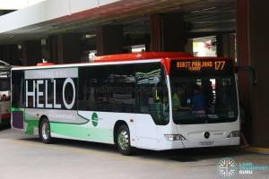 SG1009H on 177 Tower Transit Mercedes-Benz Citaro