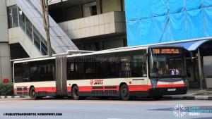 SMRT Mercedes-Benz O405G Hispano Habit (TIB1154R) - Service 700