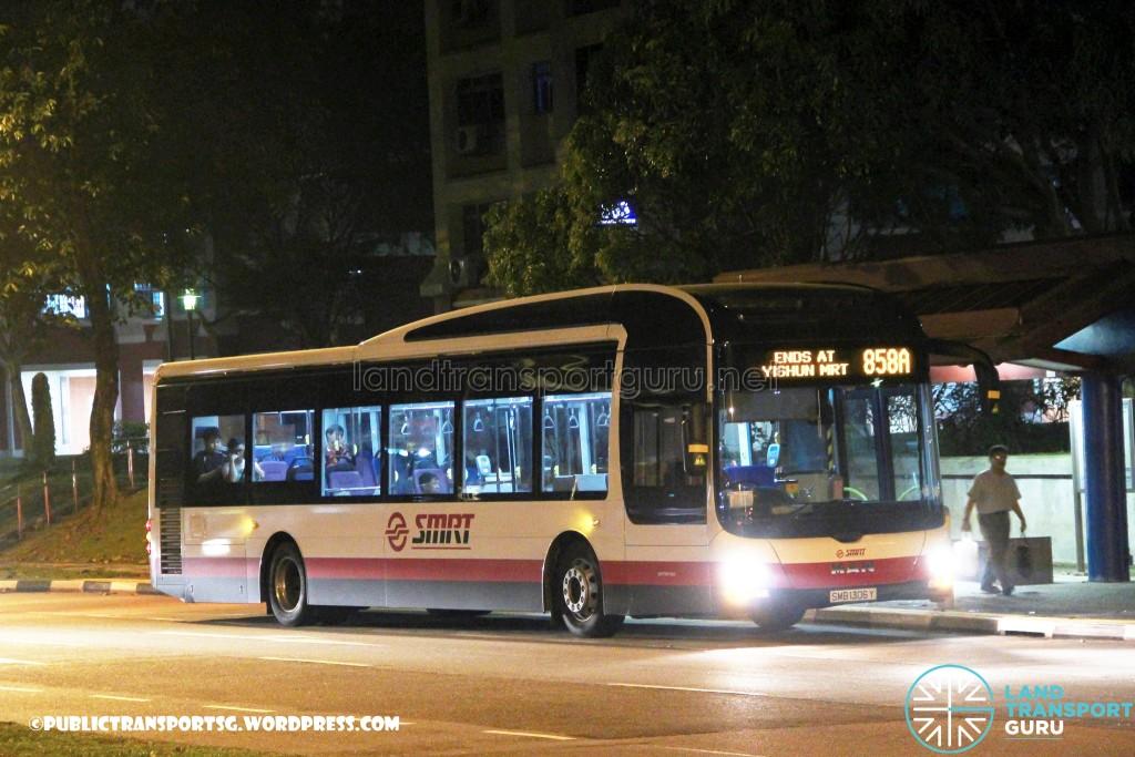 SMRT MAN A22 (SMB1306Y) - Service 858A