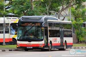 SMRT MAN A22 (SMB1362J) - Service 811