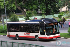 SMRT MAN A22 (SMB1390C) - Service 902