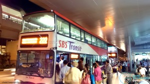 Bus Service 222 bunching