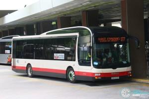 SMB3038H on 177 Tower Transit MAN A22