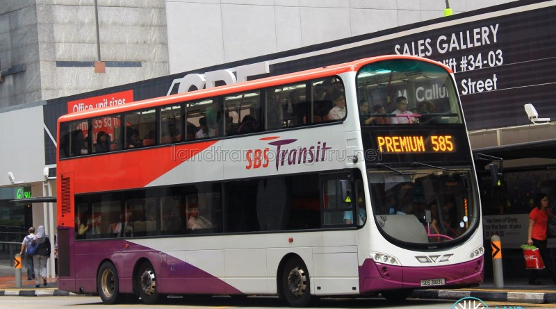 SBST Volvo B9TL Wright (SBS3183L) - Premium 585