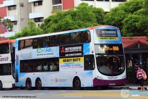 SBST Volvo B9TL (SBS3254R) - Service 88A