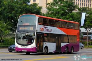 SBS Transit Volvo B9TL Wright (SBS3818P) - Express 518