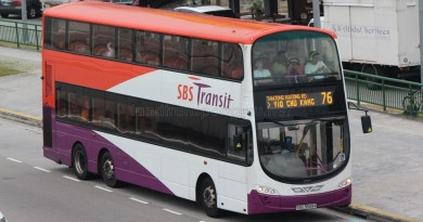 SBST Volvo B9TL (SBS3849A) - Service 76