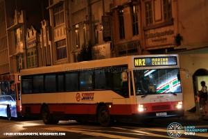 SMRT Mercedes-Benz O405 (TIB432U) - NightRider NR2