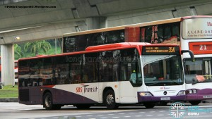 SBST Mercedes-Benz O530 Citaro (SBS6180A) - Service 354