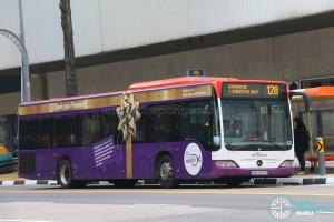 SBS Transit Mercedes-Benz O530 Citaro (SBS6652E) - Service 128