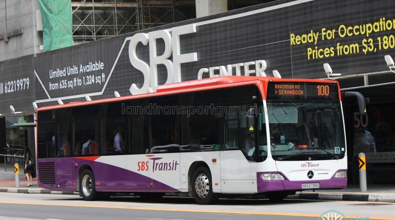 SBST Mercedes-Benz O530 Citaro (SBS6738S) - Service 100