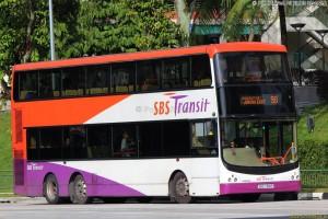 SBST Volvo B9TL CDGE (SBS7318P) - Service 98