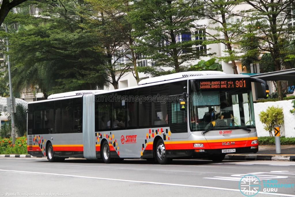 SMRT MAN NG363F (SMB8017K) - Service 901