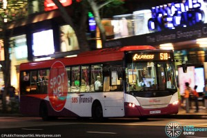 SBST Scania K230UB (SBS8849S) - Express 518