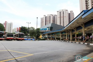 Old Bukit Panjang Bus Interchange - Bus Park