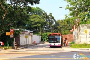 Ghim Moh Bus Terminal (Alighting stop)
