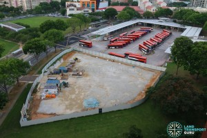 Hougang Central Bus Interchange Expansion - July 2016 (Under Construction)