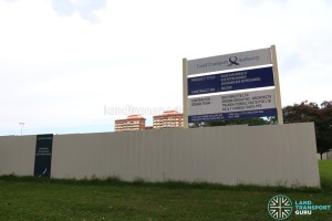 Hougang Central Bus Interchange Expansion - Construction Signage
