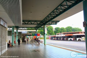 Hougang Central Bus Interchange (May 2014) - Concourse