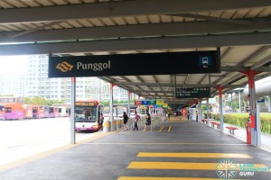 Entrance at Punggol Central