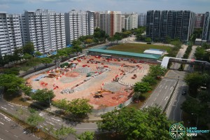 Sengkang Interchange Extension Construction Works (March 2016)