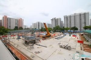 Sengkang Bus Interchange Extension - May 2016 (Under Construction)