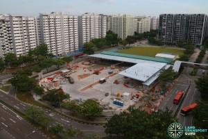 Sengkang Bus Interchange Extension - July 2016 (Under Construction)