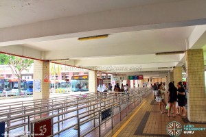 Bishan Interchange - Boarding berths