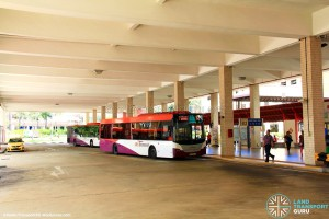 Bishan Interchange - Alighting berths