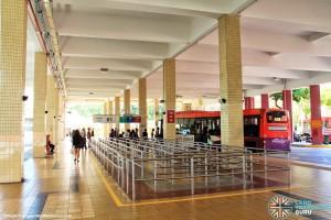 Bishan Interchange - Boarding berths
