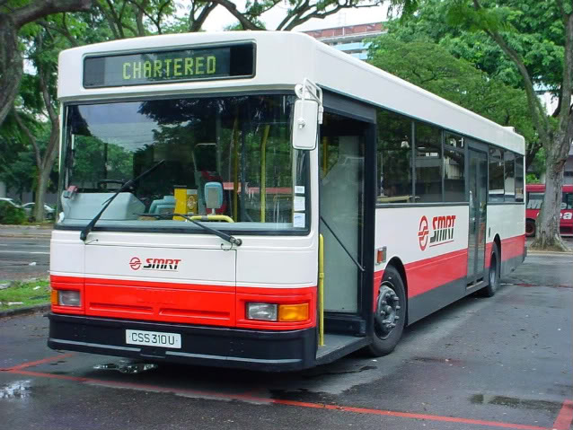 CSS310U repainted in SMRT livery, Image from forums.sgcafe.com