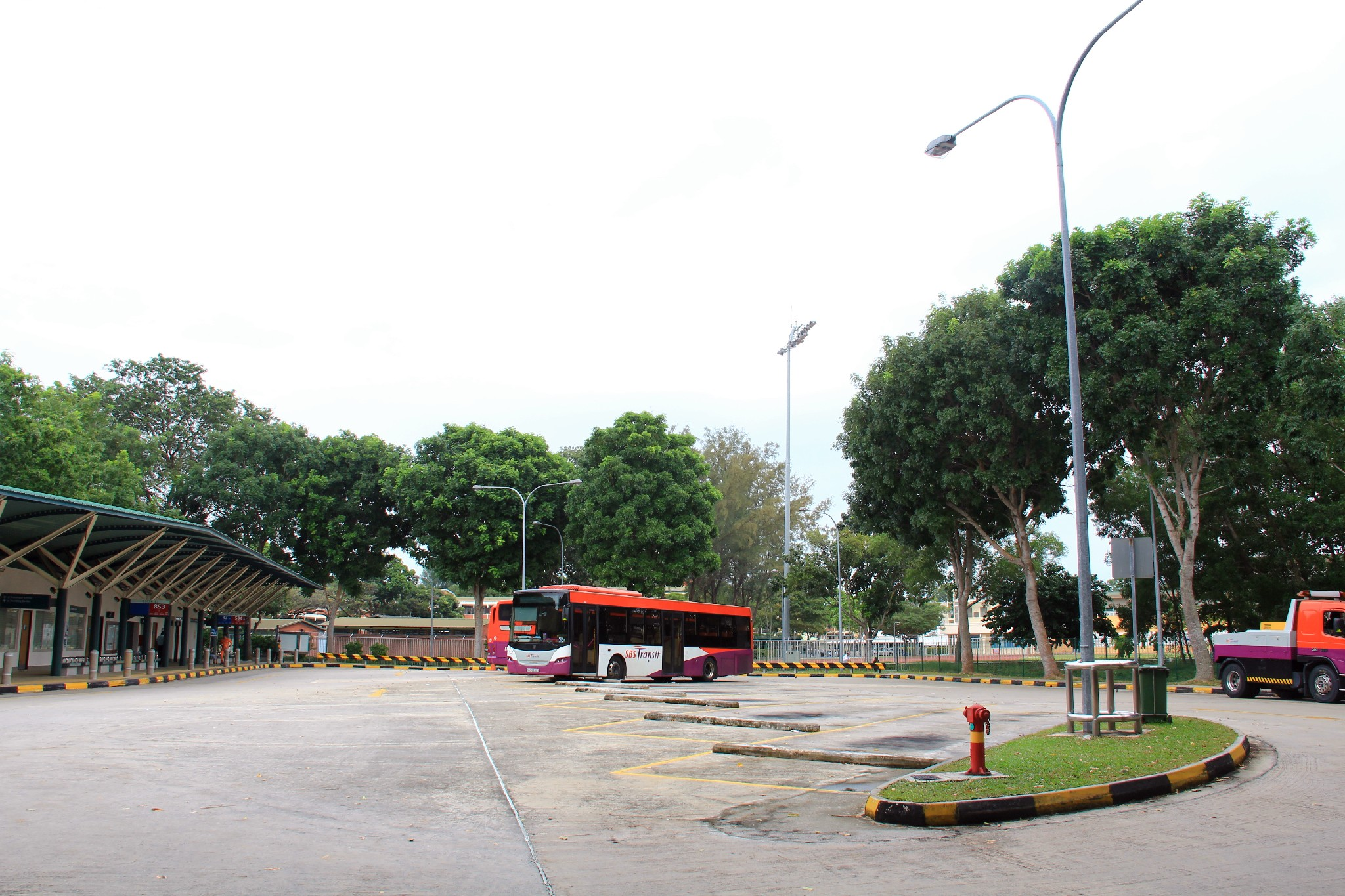 Upper East Coast Bus Terminal in 2013.