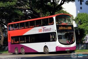 SBS Transit Volvo B9TL Wright (SBS3929C) - Service 254