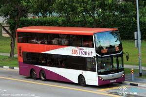 SBS Transit Scania K310UD (SBS7888K) - Service 25