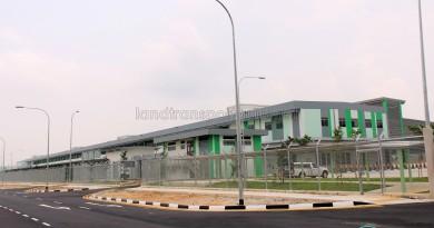 Exterior of Bulim Depot