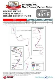 Service 951E Launch Poster