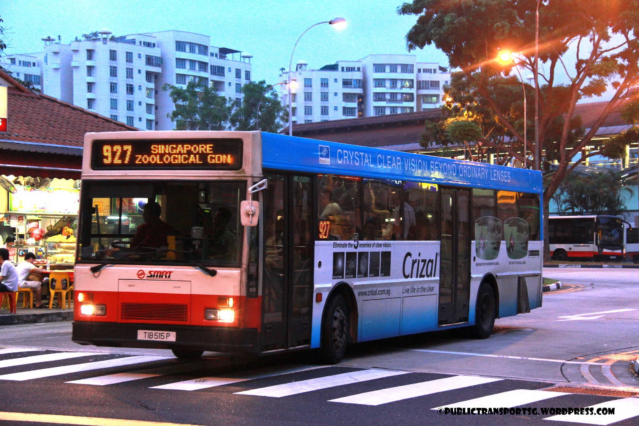 Smrt bus service 927 land transport guru for Mercedes benz woodlands service