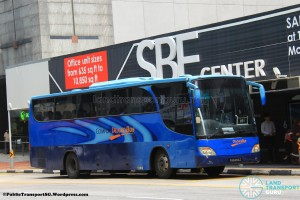 ComfortDelGro Bus Isuzu LT133P (PA6494Z) - City Direct 651