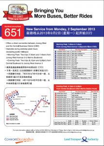 LTA Route Poster