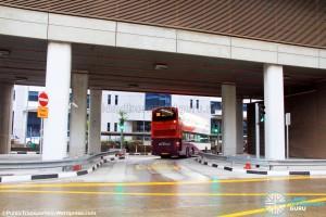 Joo Koon Bus Interchange - Exit to Joo Koon Circle