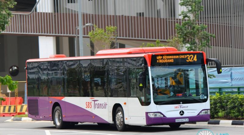 SBS Transit Mercedes-Benz O530 Citaro (SBS6475A) - Service 324