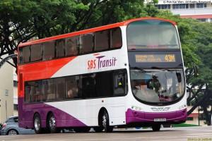 SBS Transit Volvo B9TL Wright (SBS3435K) - Service 43M