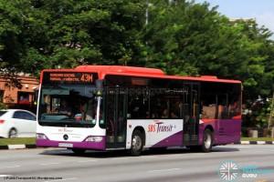 SBST Mercedes-Benz O530 Citaro (SBS6499G) - Service 43M