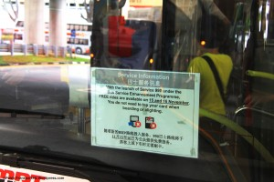 Free rides offered on Service 990